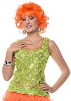 Neon groen dames hemd 36 (S)