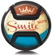 Kaiser Lens Cap Snap-On Style Smile Now 55mm