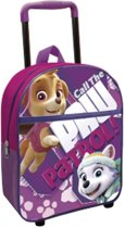 Nickelodeon Trolley/rugzak Paw Patrol Paars 8l
