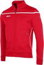 Reece Varsity Tts Top Fz Unisex Sportjas Unisex - Red/White