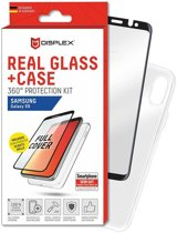 Displex 3D Real Glass + Case Samsung Galaxy S9 360° Protection Kit