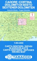 Tabacco Karte 1 : 50 000Sextener Dolomiten 1 : 50 000