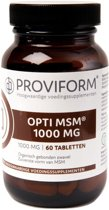 Proviform / OPTI MSM 1000 MG - 60 tabletten