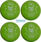 Bandido Wax (4-Pack green Aqua 150 ml) + devoordeligedrogisterij opzetborstels