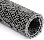 PVC antislipmat grijs voor zwembaden en douches 500x120cm