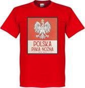 Polen Centenary T-Shirt - Rood - S