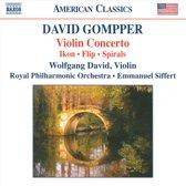 David/Zazofsky/Royal Philharmonic O - Violin Concerto/Ikon/Flip For Strin
