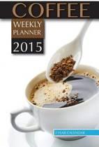 Coffee Weekly Planner 2015