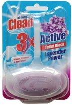 At Home Clean Toiletblok Lavendel 4-pack