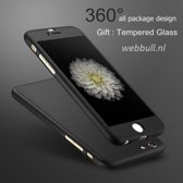iPhone 6s 360 Graden Hoesje (zwart)