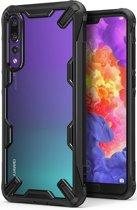 Ringke Fusion X Huawei P20 Pro Hoesje Doorzichtig Black