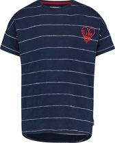 Vingino Meisjes T-shirt - Dark Blue - Maat 92