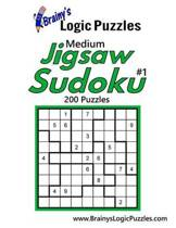 Brainy's Logic Puzzles Medium Jigsaw Sudoku #1