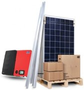 Zonnepanelen compleet pakket 4125W