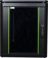 LOGON RDL12U61BL Vrijstaande rek 12U 600kg Zwart rack