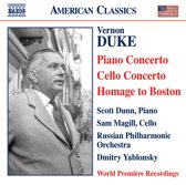 Dunn / Magill / Rpo - Piano Concerto / Cello Concerto