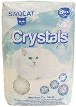 Sivocat Silicagel Crystals Kattenbakvulling - 8 l