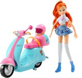Winx Elektrische Scooter & Bloom pop 28 cm