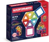 Magformers Basisset 30 Onderdelen - Magnetische Bouwset
