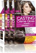 L'Oréal Paris Casting Crème Gloss 513 - Licht beigebruin -Haarverf