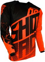 Shot Kinder Crossshirt Devo Venom Neon Orange-XL