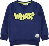 Name it Jongens Sweatshirt - Blue Depths - Maat 98