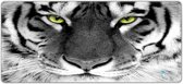 Muismat gaming witte tijger 90 x 40 cm - Sleevy