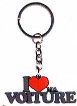 sleutelhanger I love ma voiture