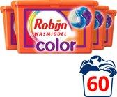Robijn Wasmiddel 3-in-1 Capsules Color 4x15 wasbeu
