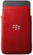 BlackBerry Microfiber Pocket Hoes voor BlackBerry Z10 - Rood