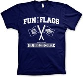 THE BIG BANG THEORY - T-Shirt Fun With Flags (S)