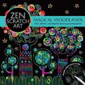 ZEN SCRATCH ART MAGICAL WOODLANDS