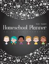 Multi-Student Homeschool Planner