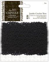 2meter Jumbo Crochet Trim - Capsule - Midnight Blush