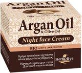 HerbOlive Argan Olie Nacht Crème 50ml