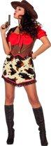 Cowboy & Cowgirl Kostuum | Hete Colt Cowboy | Vrouw | Maat 38 | Carnaval kostuum | Verkleedkleding