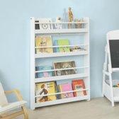 Simpletrade Boekenkast - Voor kinderen - 4 Planken - wit
