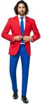 Heren kostuum Marvel Spiderman - Opposuits pak - Verkleedkleding/Carnavalskleding 50 (L)