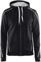 Craft In-The-Zone Full Zip Hood men black l