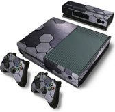 Steel Silver - Xbox One Console Skins Stickers