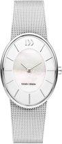 Danish Design IV62Q1168 horloge dames - zilver - edelstaal
