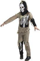 Kostuum Zombie Skelet - 7-9 Jaar
