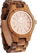 WoodWatch | FEMME Teak Rosegold | Horloge van hout voor vrouwen