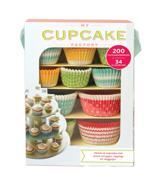 My cupcake factory + 200 cupcakevormpjes! 34 vlaggetjes!