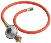 Gasslang - Met E7 aanlsuiting - Gasslang met Regulator