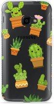 Galaxy Xcover 4 Hoesje Happy Cactus