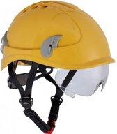 Cerva Alpinworker Lichte Bouwhelm Veiligheidshelm met veiligheidsbril - geel