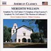 Willson M. : Symphonies No.1&2