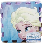 Frozen 9 delige schuim puzzel