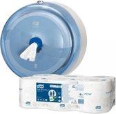 Tork toiletpapier SmartOne 2-laags 1150 vellen systeem T8 pak van 6 rollen